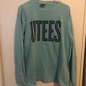 University Tees comfort colors long sleeve